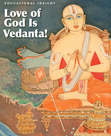 Image of Love of God is Vedanta